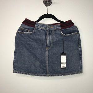 Brand New Carmar Denim Skirt